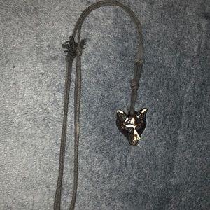 Jewelry - Wolf head necklace